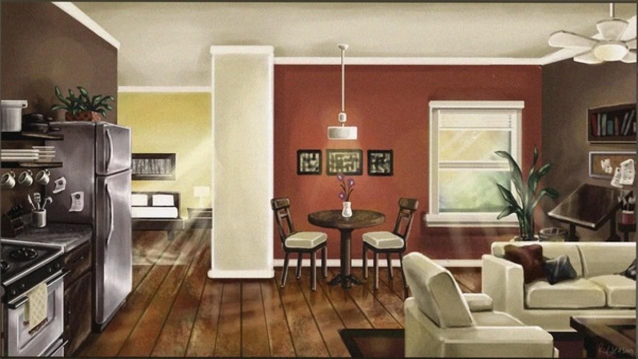 Plan Out Your Room Open Floor Paint Colors