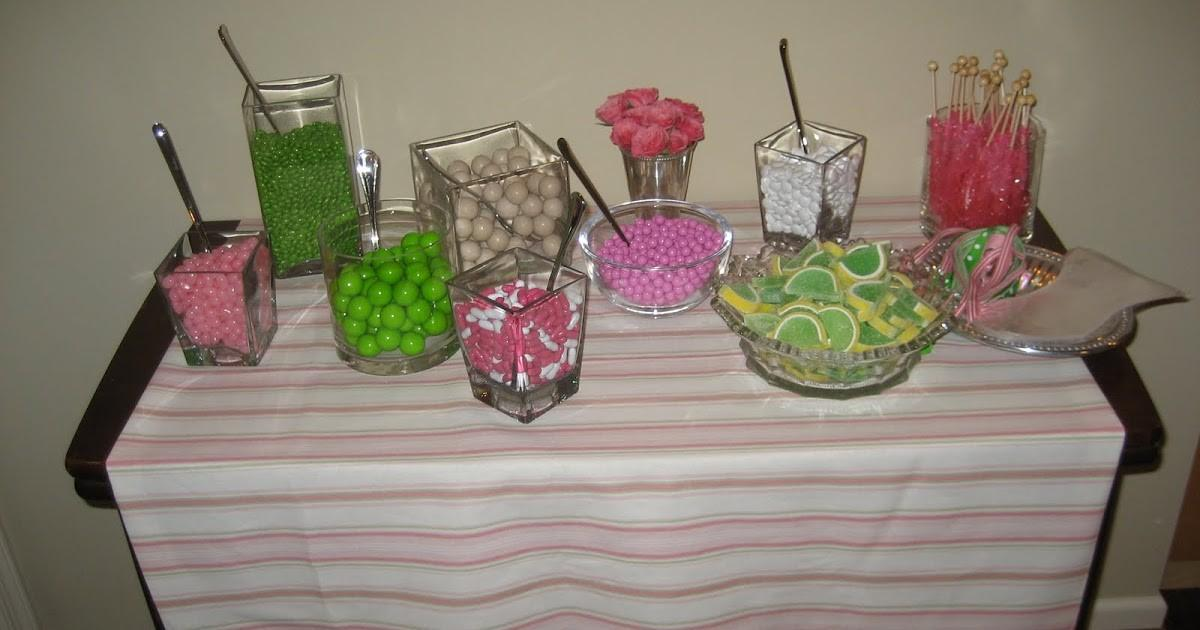 Plan Party Favors Candy Buffet