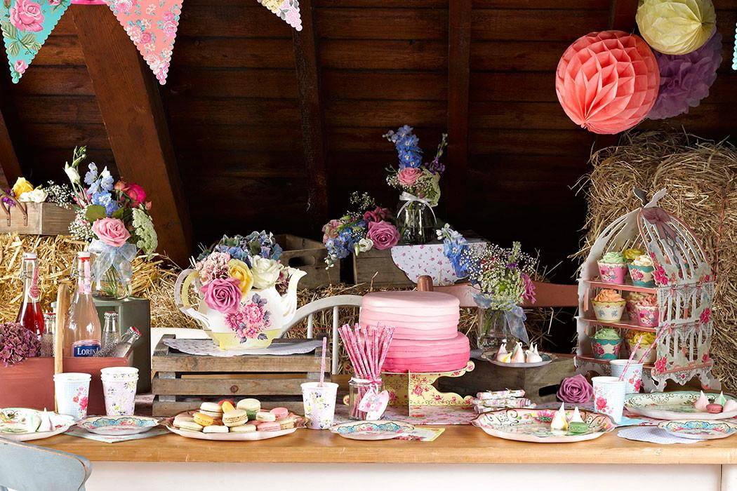 Plan Perfect Vintage Tea Party Delights Blog
