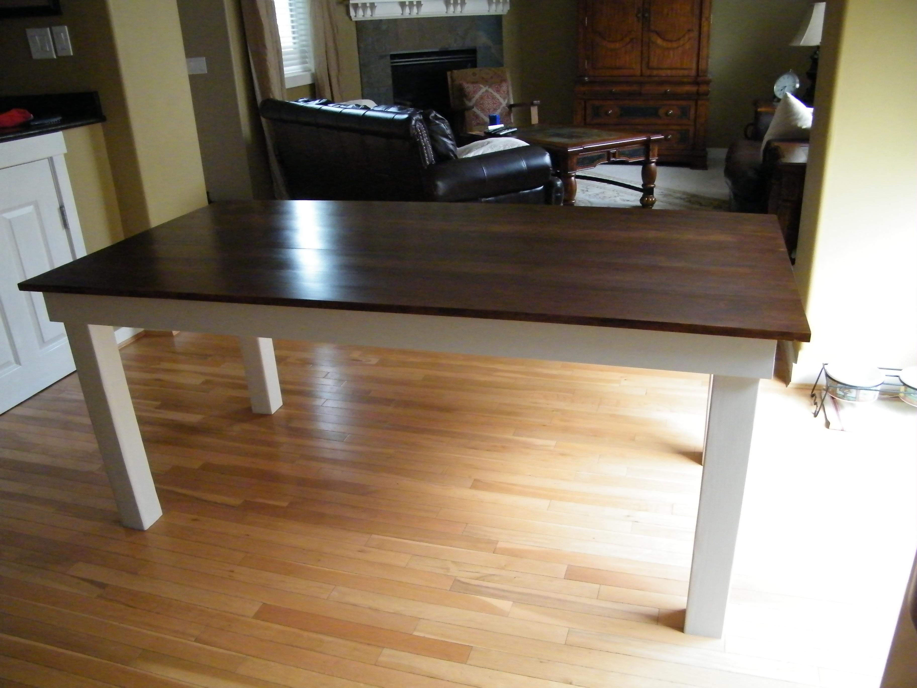 Plans Rustic Kitchen Table Classic