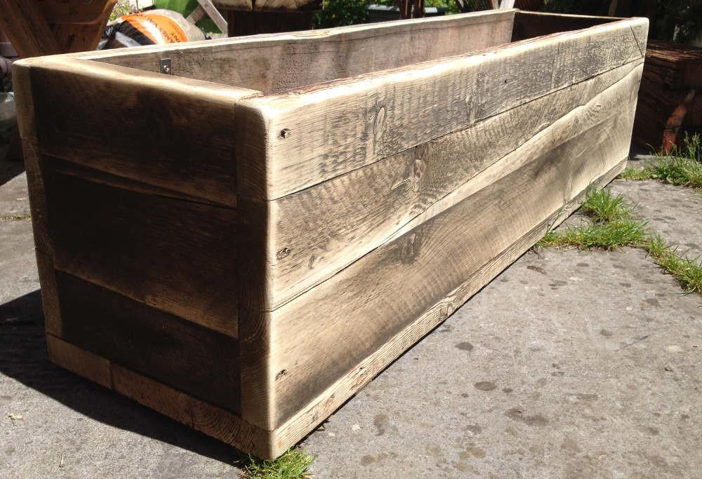 Planters Chunky Reclaimed Furniture Handmade Somerset