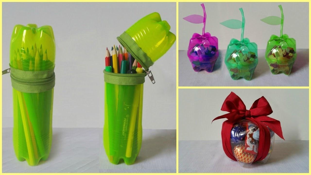 Plastic Bottles Recycling Ideas
