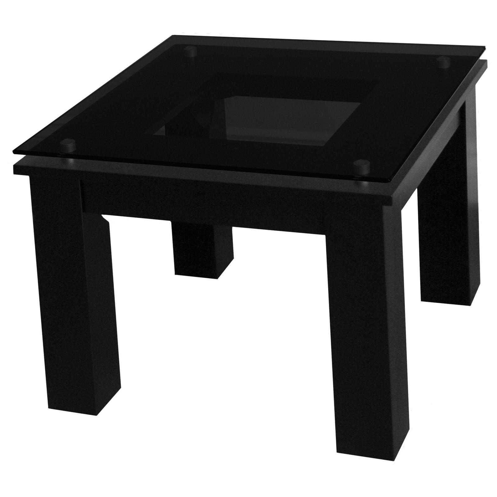 Plateau Contemporary End Table Black