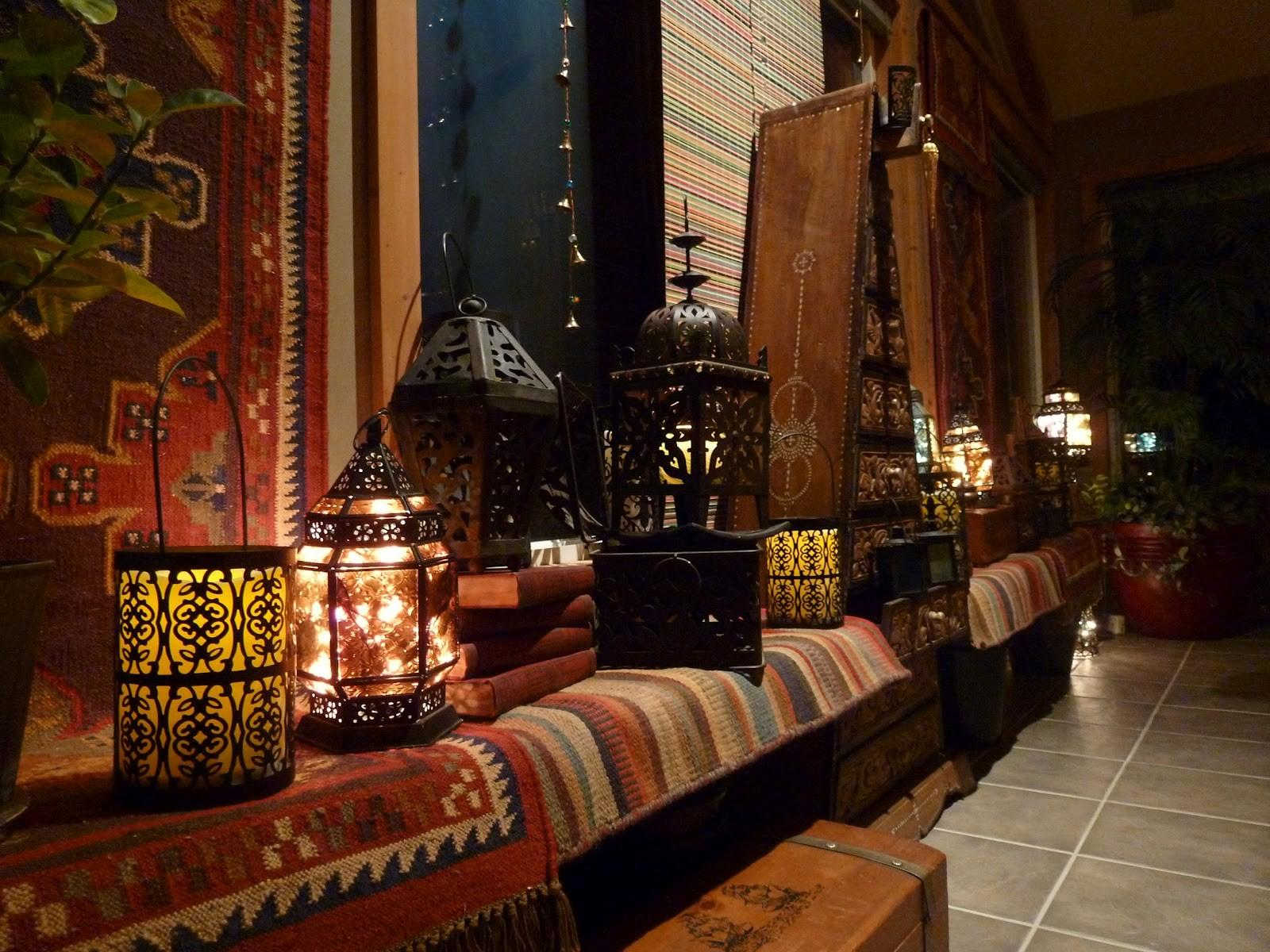 Plates Moroccan Dining Room