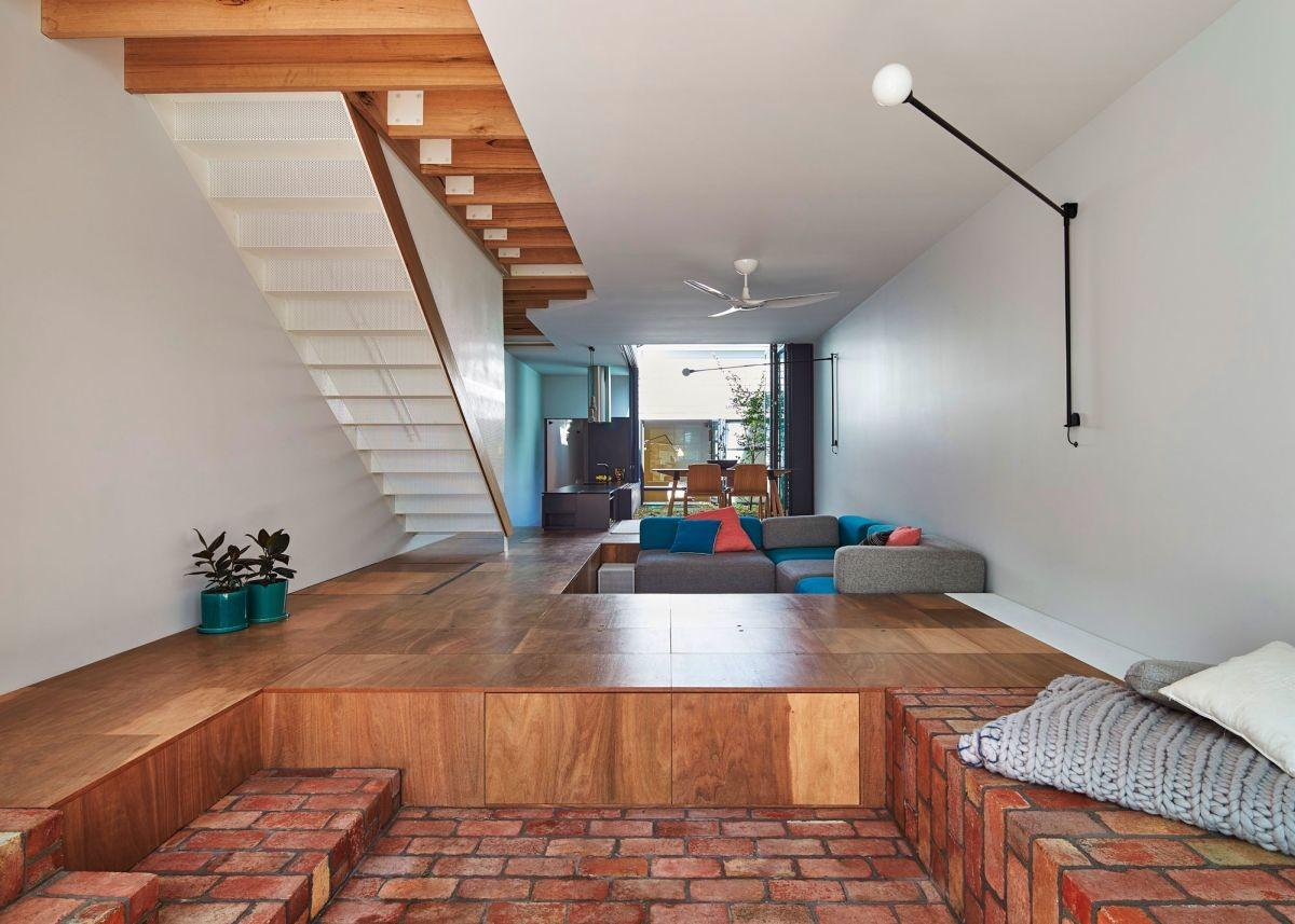 Playful Family Home Lightwell Its Center