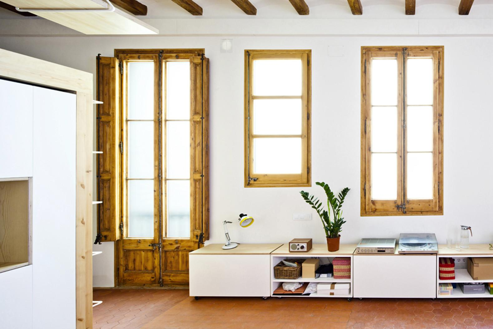 Playful Renovation Barcelona Squeezes More Out