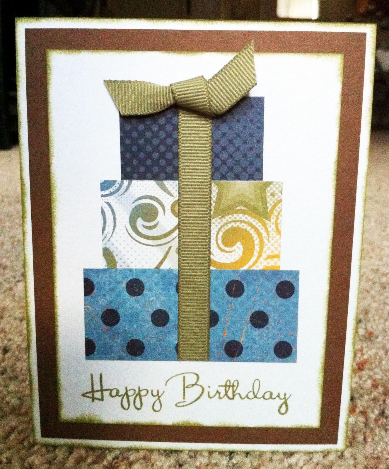 Playing Paper Scrapbooks Cards Diy Masculine