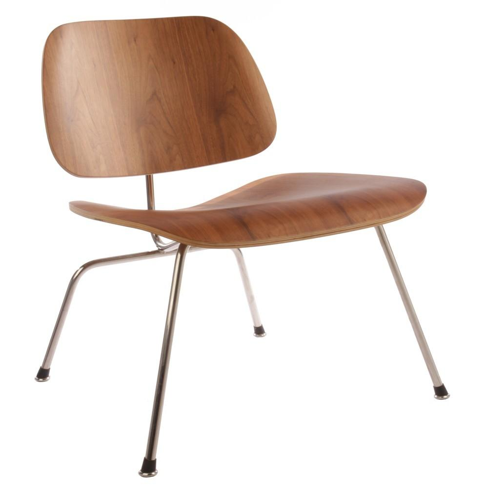 Plywood Lounge Chair Metal Legs Charles Ray Eames