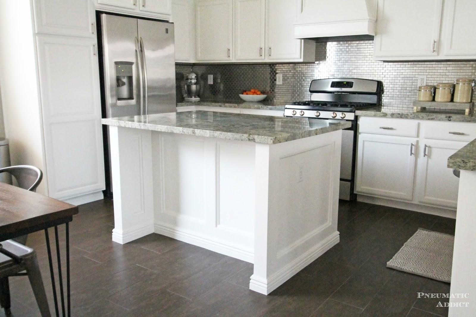 Pneumatic Addict Stacked Cabinet Kitchen Makeover