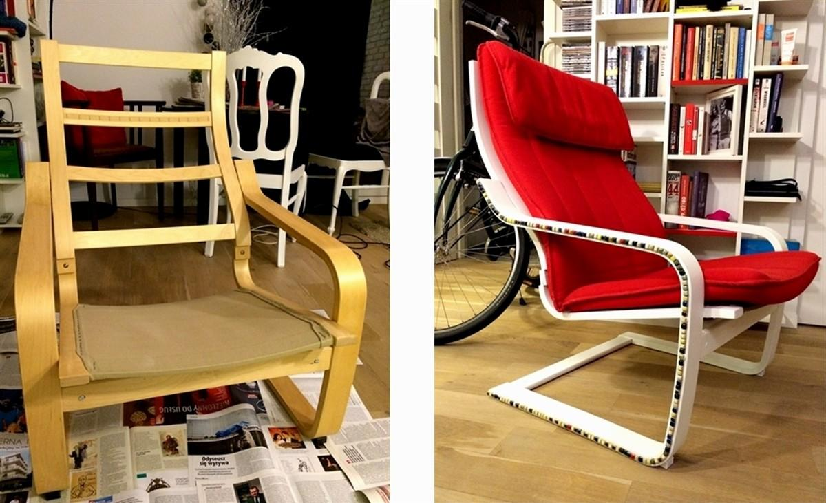 Poang Chair Hackers Furniture Modification Ideas