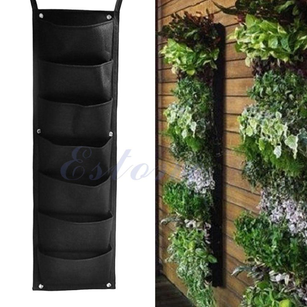 Pocket Hanging Vertical Garden Planter Indoor Outdoor