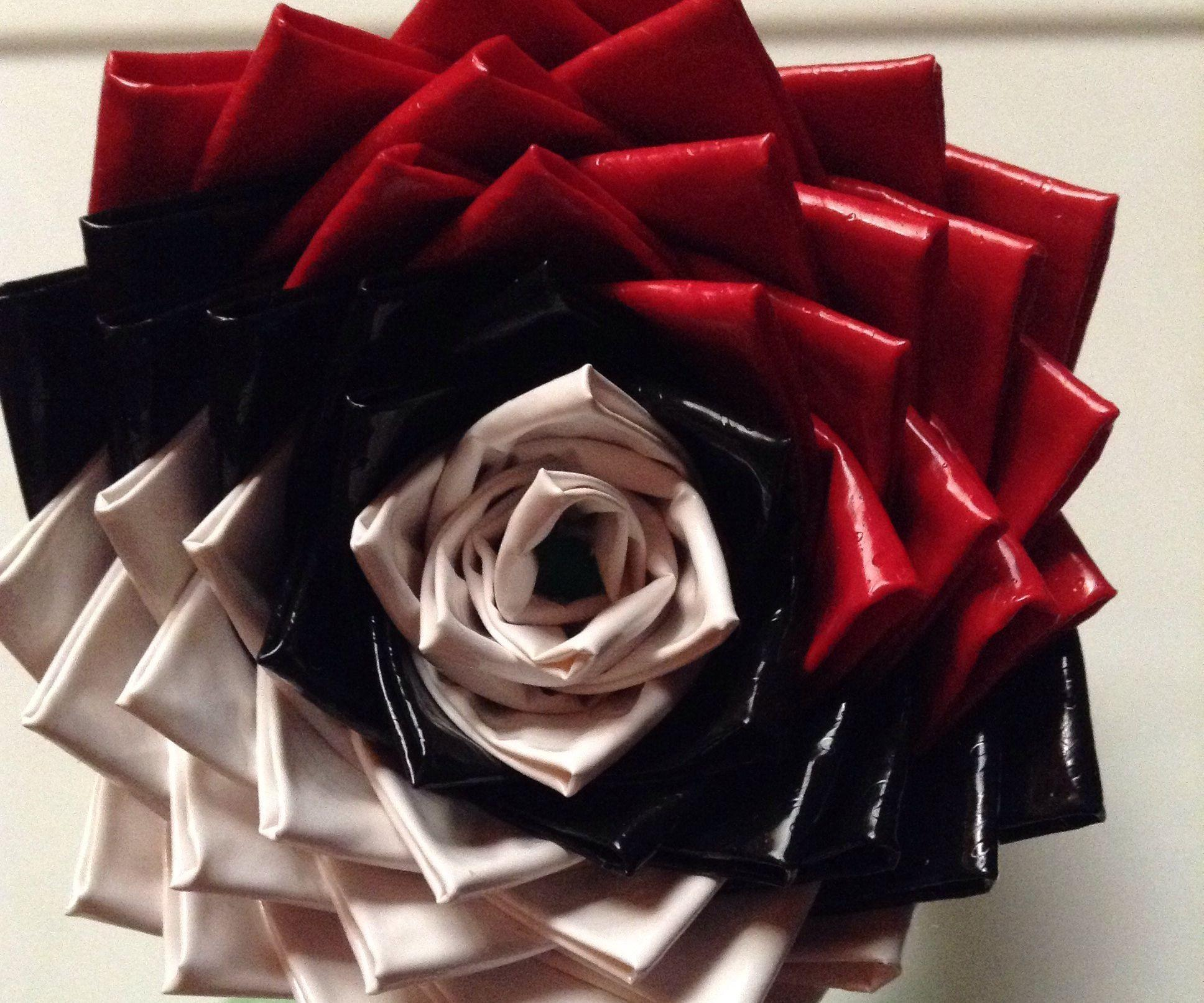 Pokeball Duct Tape Rose