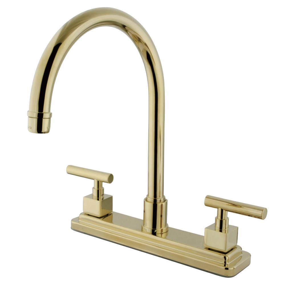 Polished Brass Kitchen Faucets Faucet Best