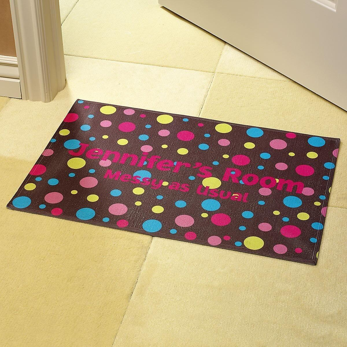 Polka Dots Brown Doormat Current Catalog