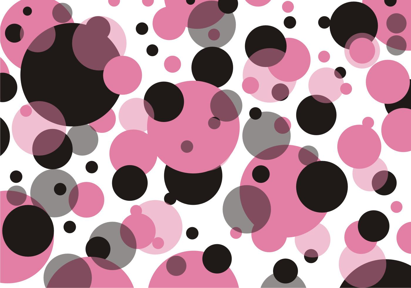 Polka Dots Pattern Vector Art