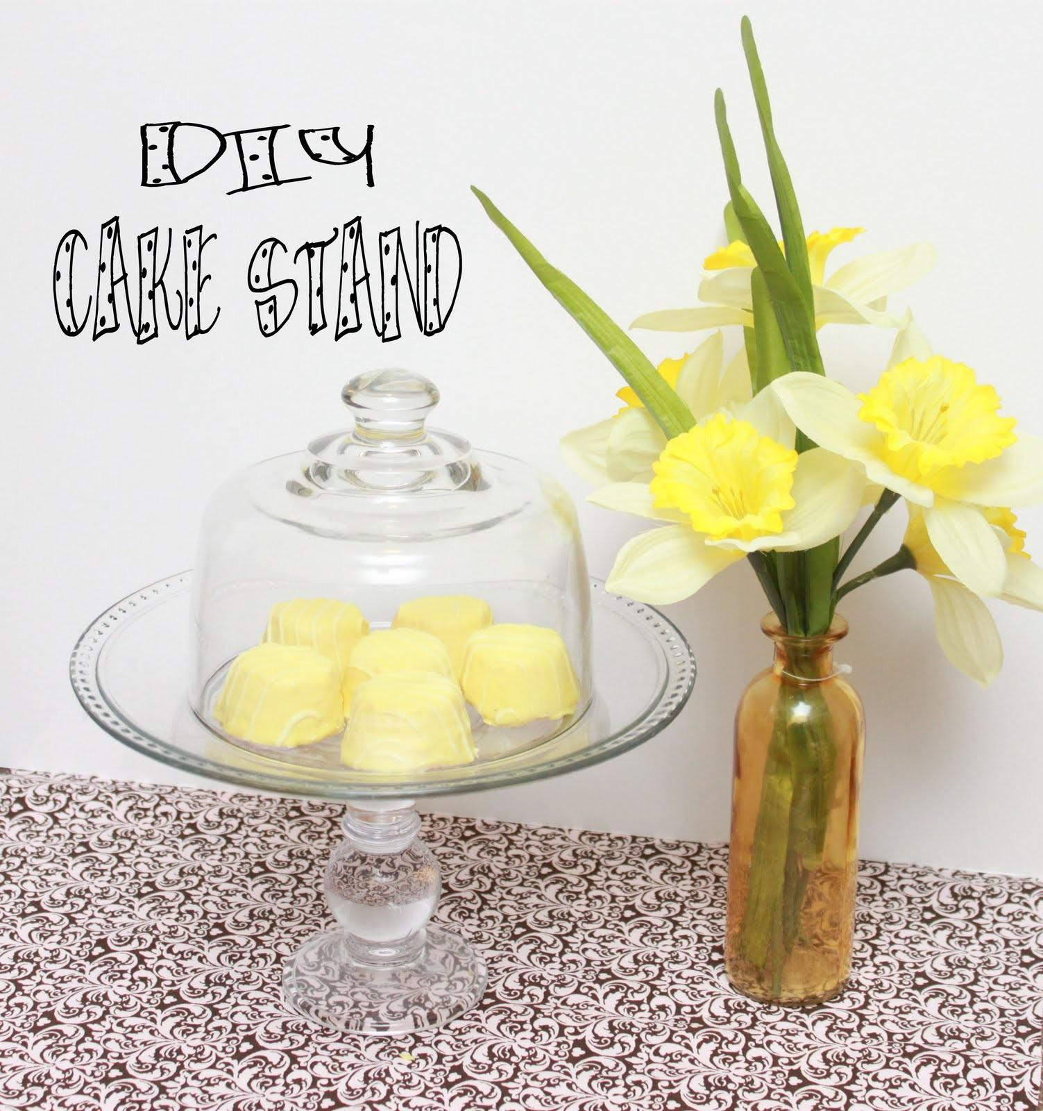 Polka Dotted Elephants Diy Cake Stand