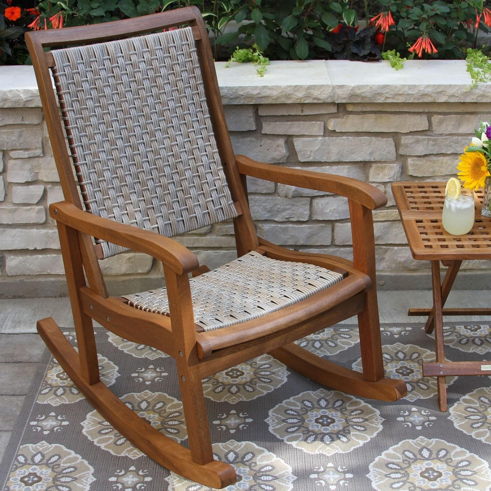 Polywood Jefferson Recycled Plastic Rocking Chair