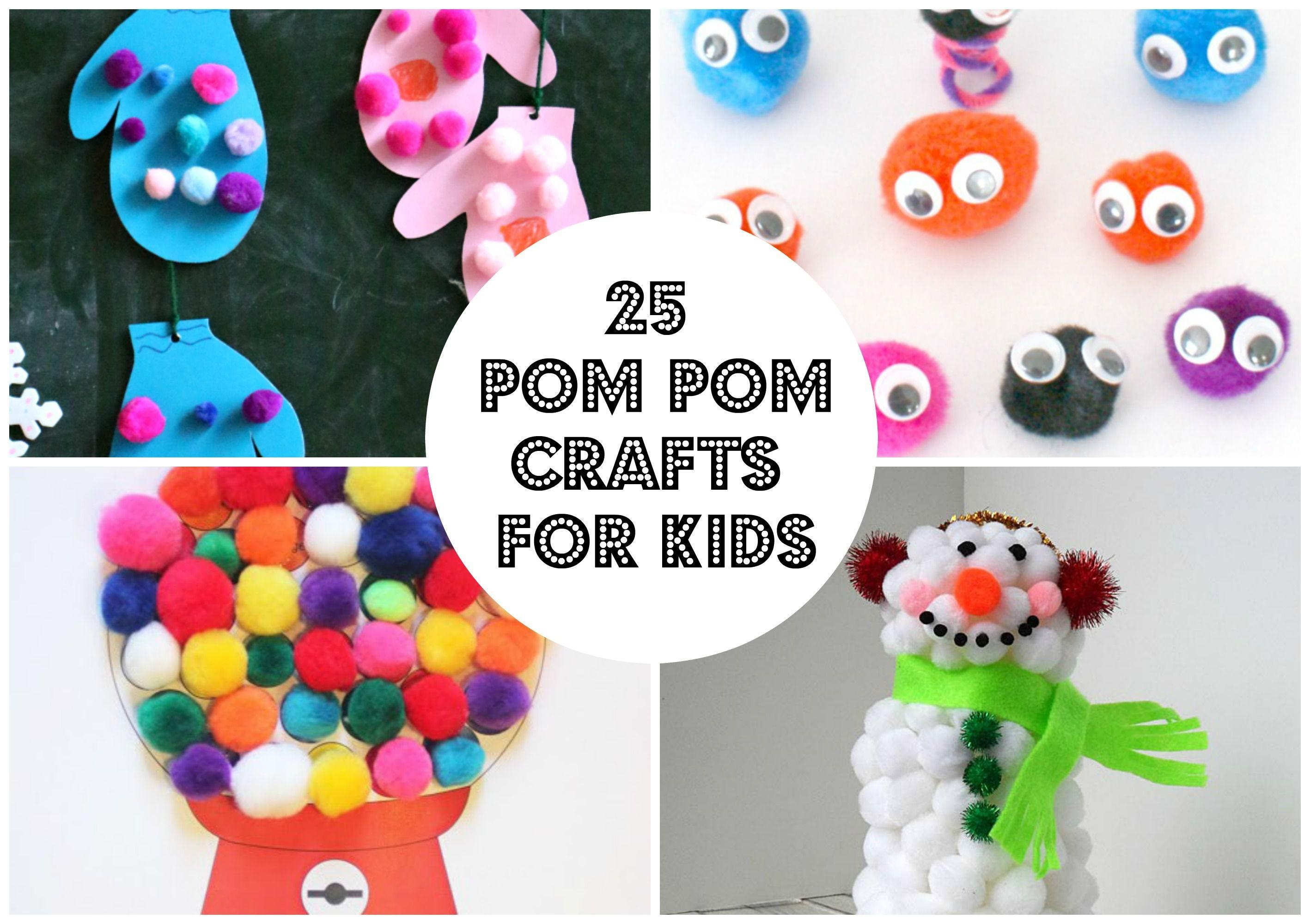 Pom Crafts Kids
