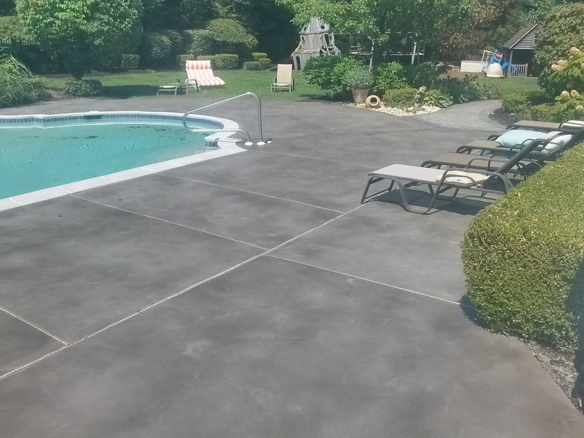 Pool Deck Concrete Resurfacing Colts Neck New Jersey