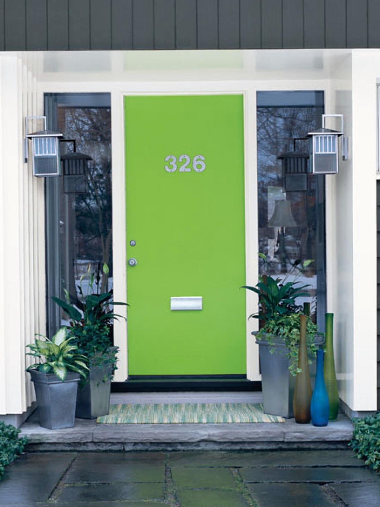 Popular Colors Paint Door Installing