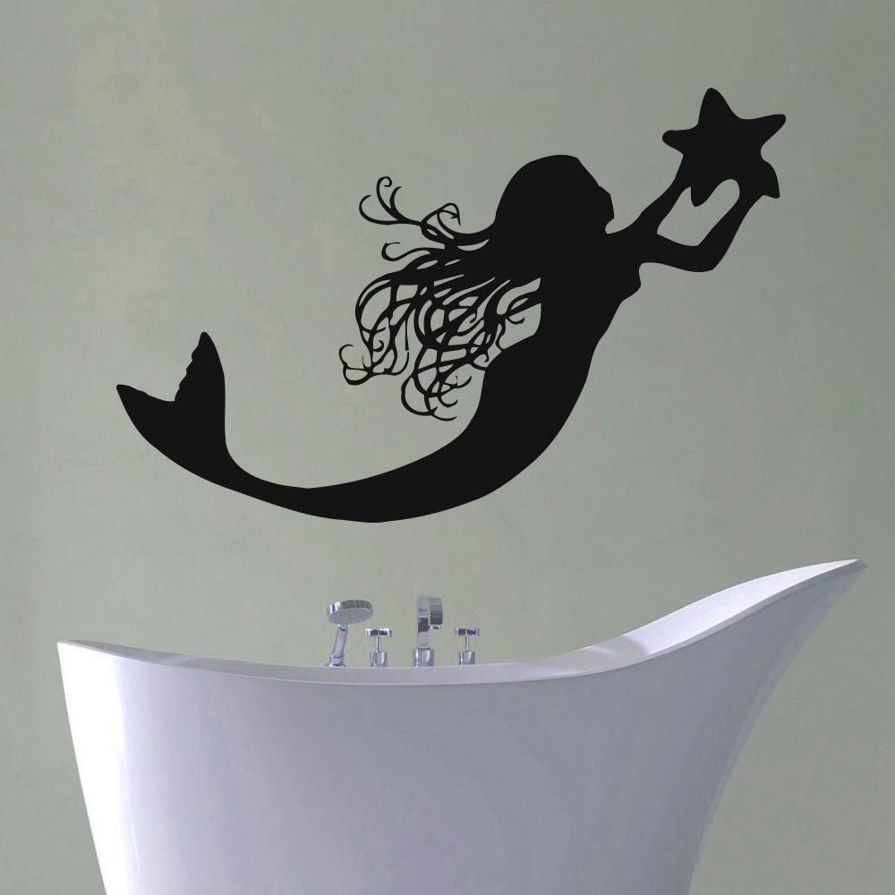 Popular Mermaid Bathroom Decor Buy Cheap