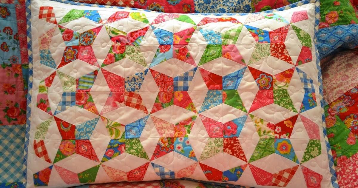 Porch Swing Quilts Friday Finish Gypsy Girl Kaleidoscope