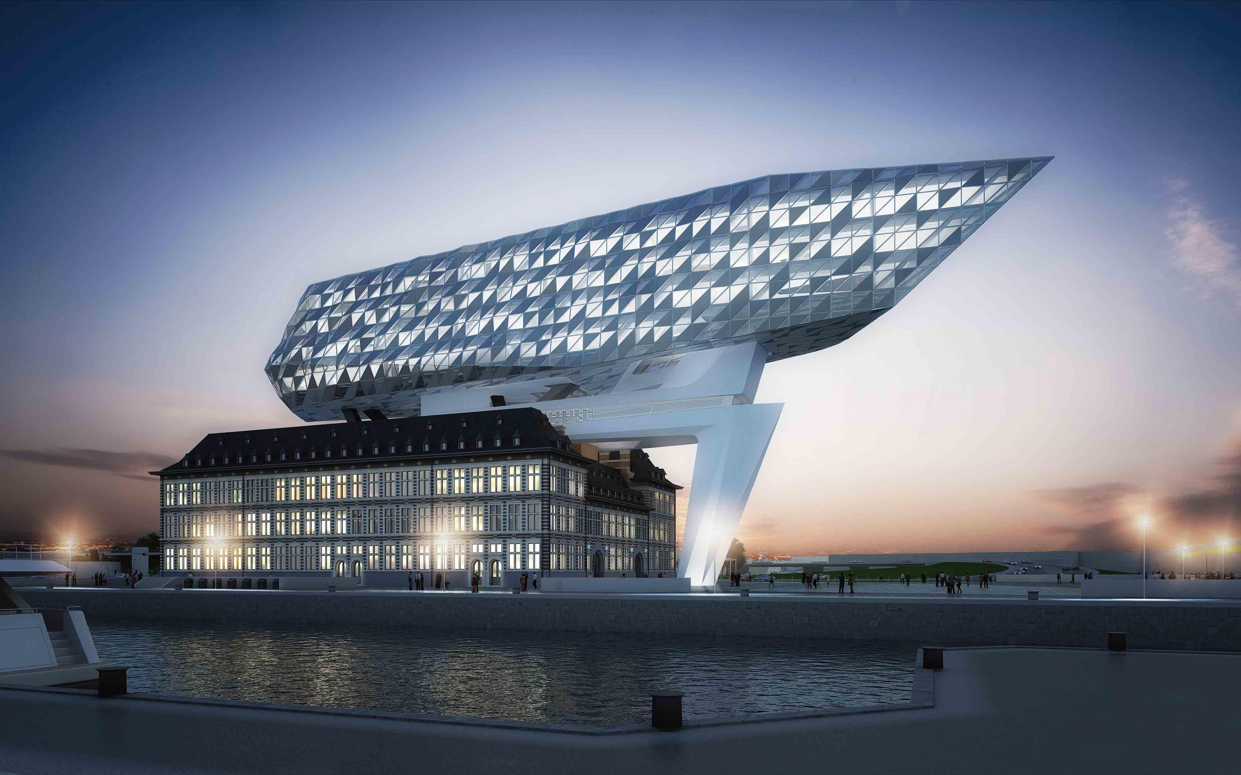 Port House Antwerp Authority Headquarters Zaha