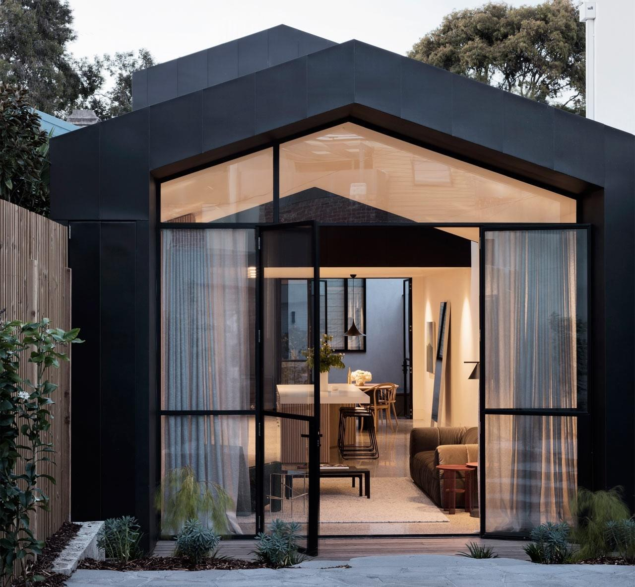 Port Melbourne House Novation Une Maison Par