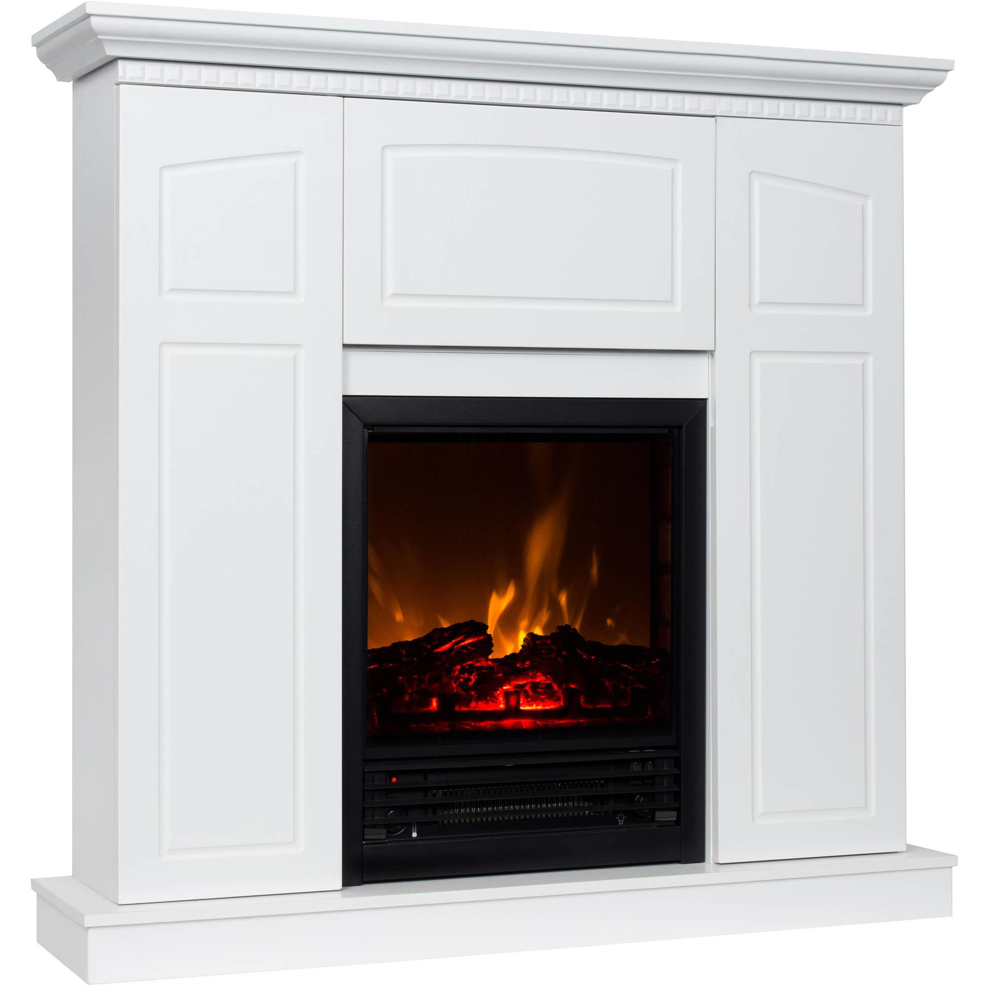 Portable Electric Fireplace White Fireplaces