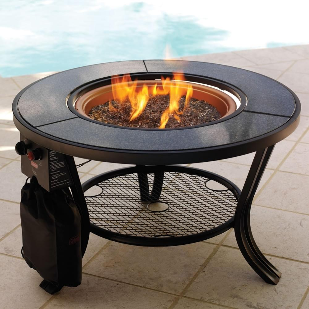 Portable Gas Fire Pit Cooking Med Art Home Design Posters