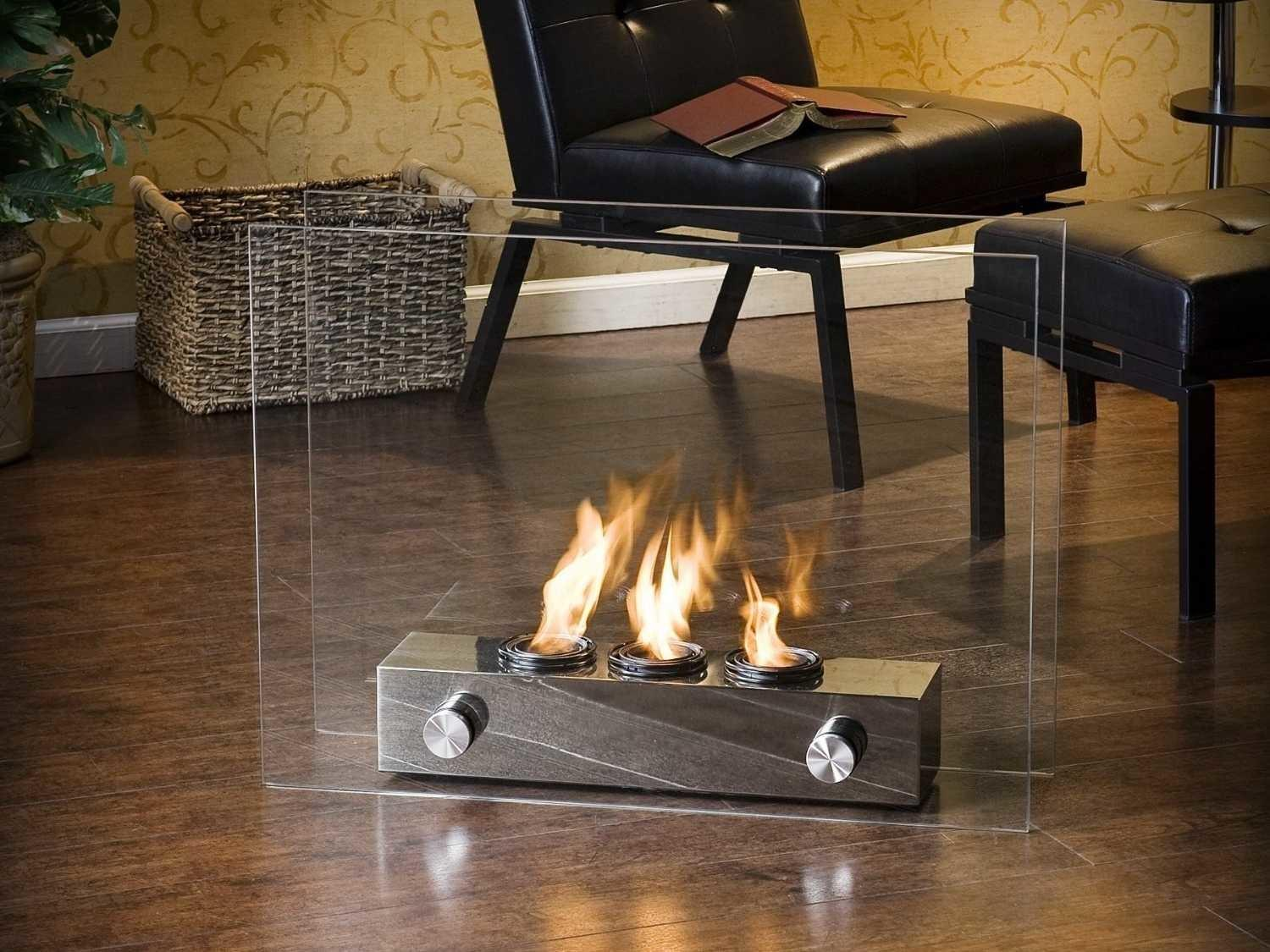 Portable Gel Fireplace Can Warm Any Room