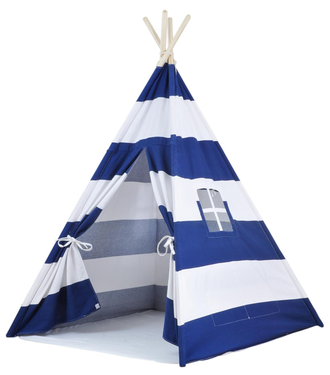 Portable Kids Canvas Teepee Tent Carrying Case Large
