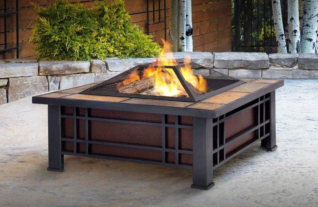 Portable Outdoor Wood Fireplace Fireplaces