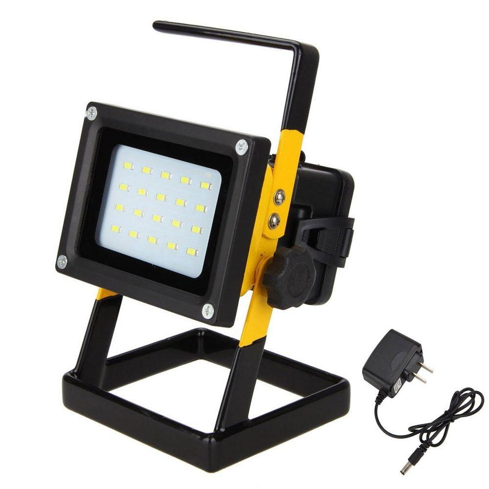 Portable Rechargeable 10w Led Outdoor Camping Flood