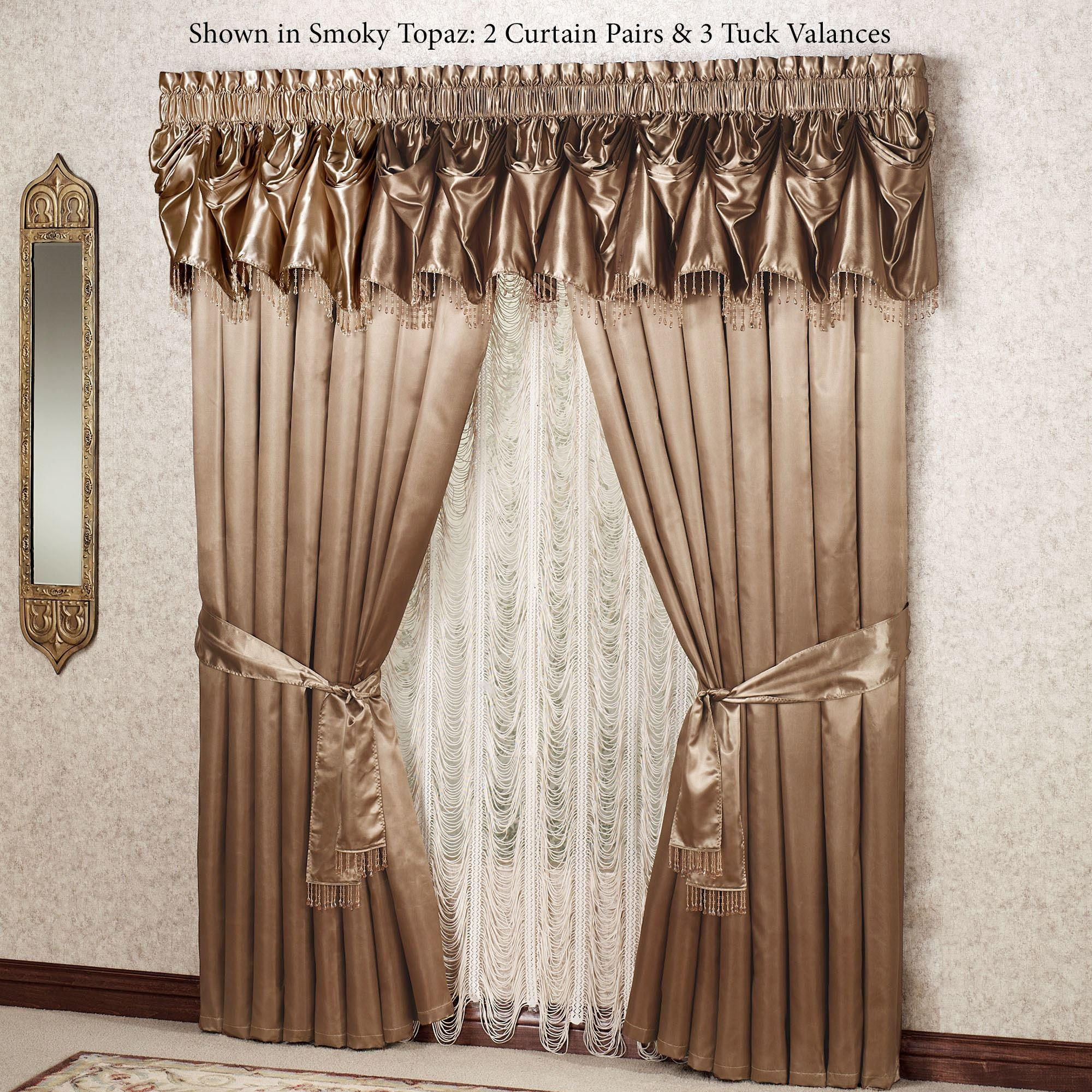 Portia Tuck Valance Window Treatments