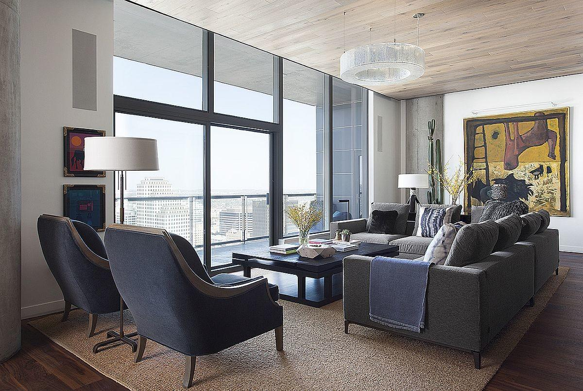 Posh Austin Condo Features Dining Table Morphs