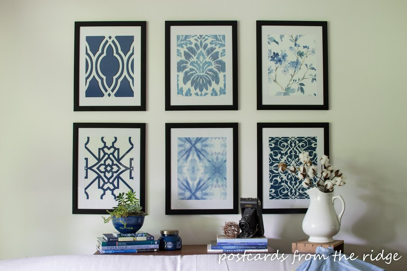 Pottery Barn Framed Art All Collection