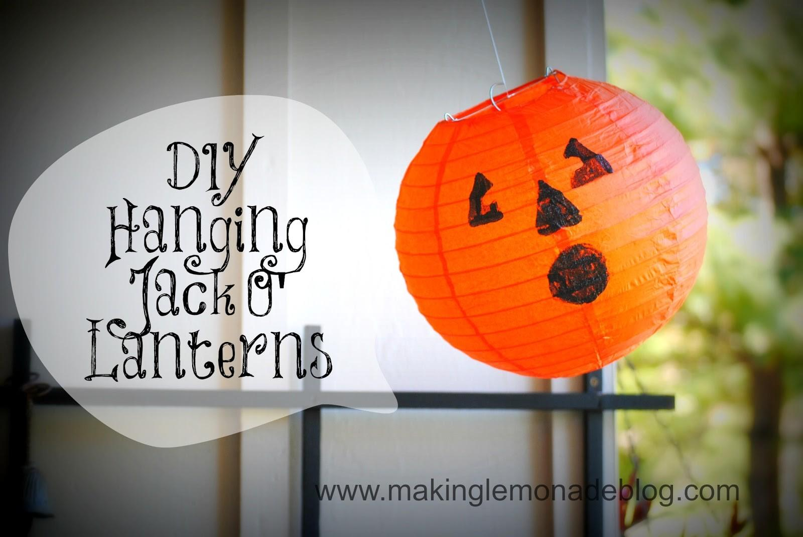 Pottery Barn Knock Hanging Pumpkin Lanterns Making