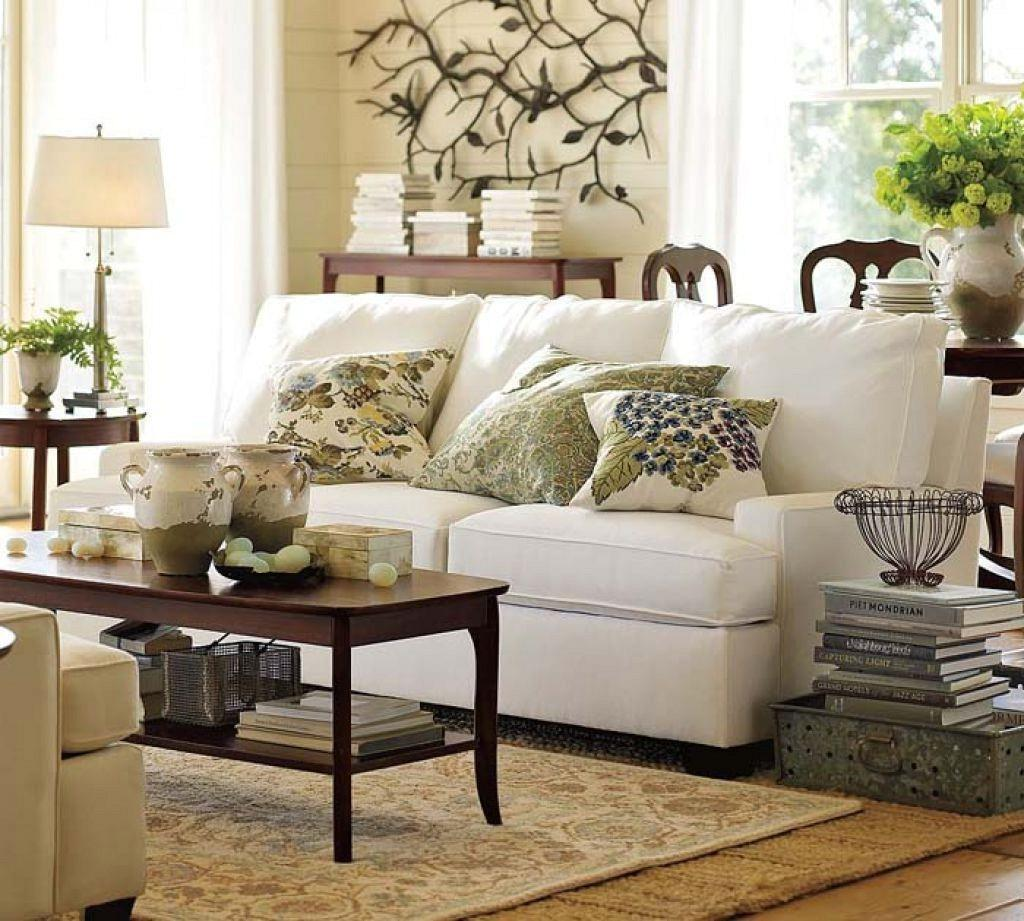 Pottery Barn Living Room Decorating Ideas Modern House