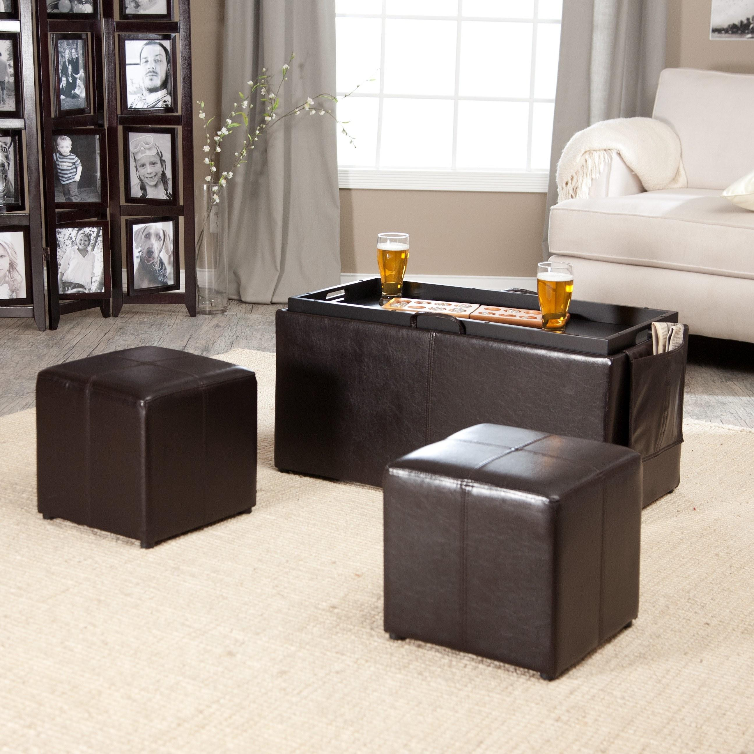 Pouf Ottoman Elegant Decorative