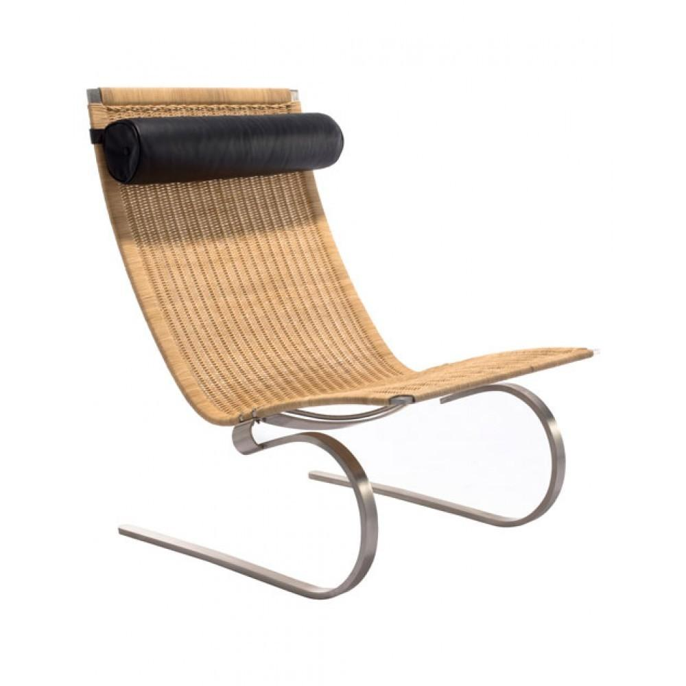Poul Kjaerholm Pk20 Lounge Chair Rattan Replica Commercial