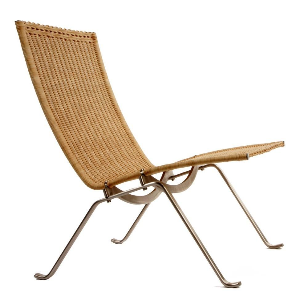 Poul Kjaerholm Pk22 Lounge Chair Rattan Replica