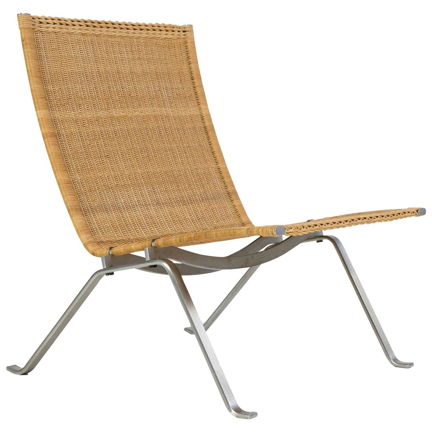 Poul Rholm Pk22 Wicker Chair Kold Christensen