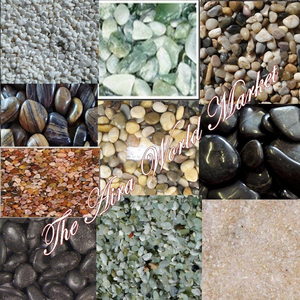 Pounds Stones Decor Pebbles Polished Natural River Rock