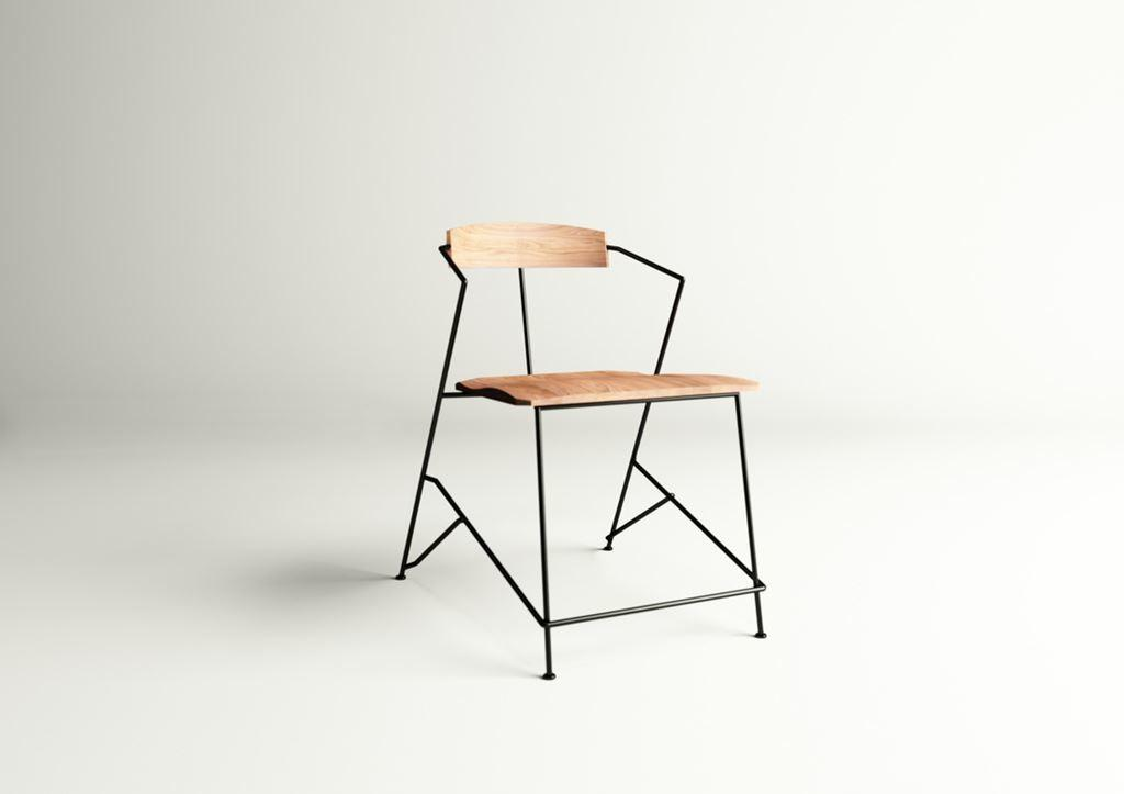 Power Minimalist Industrial Chair
