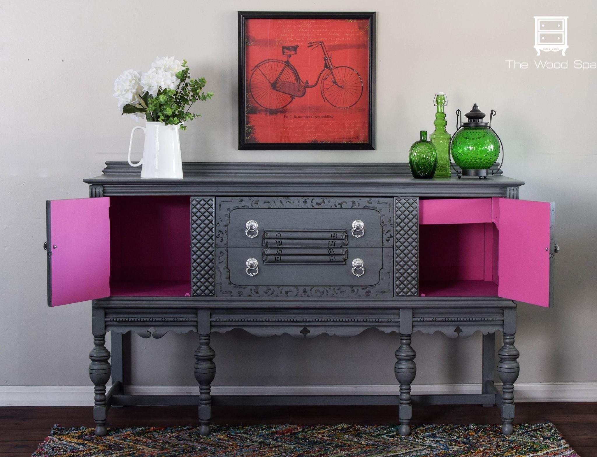 Powerful Punch Pink Diy Furniture Makeovers