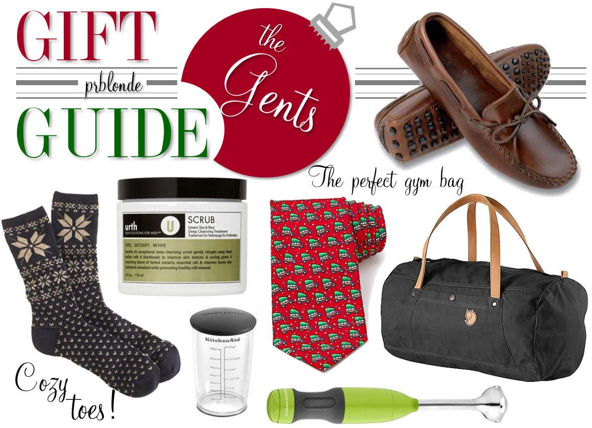 Prblonde Holiday Gift Guide Men