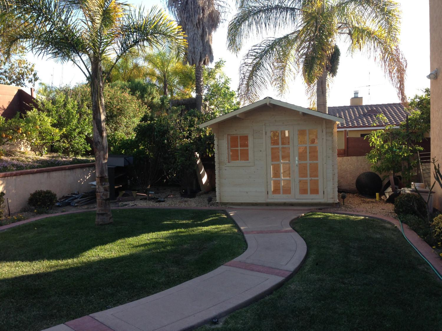 Pre Made Guest House Storage Shed Office Space Pool