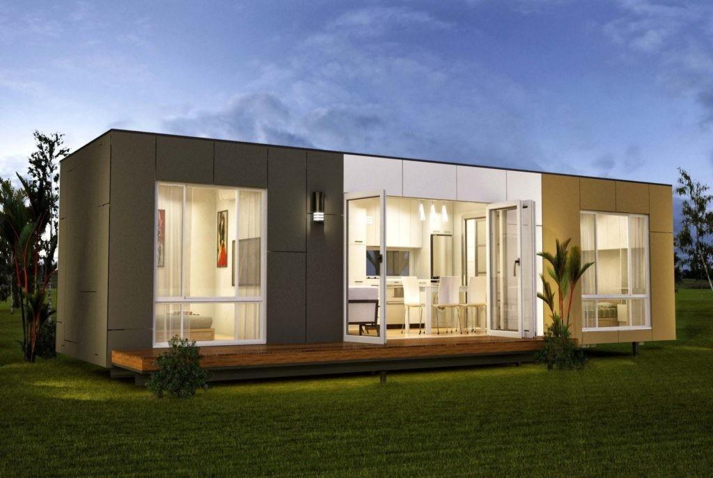 Pre Made Shipping Container Homes Minimalist Home