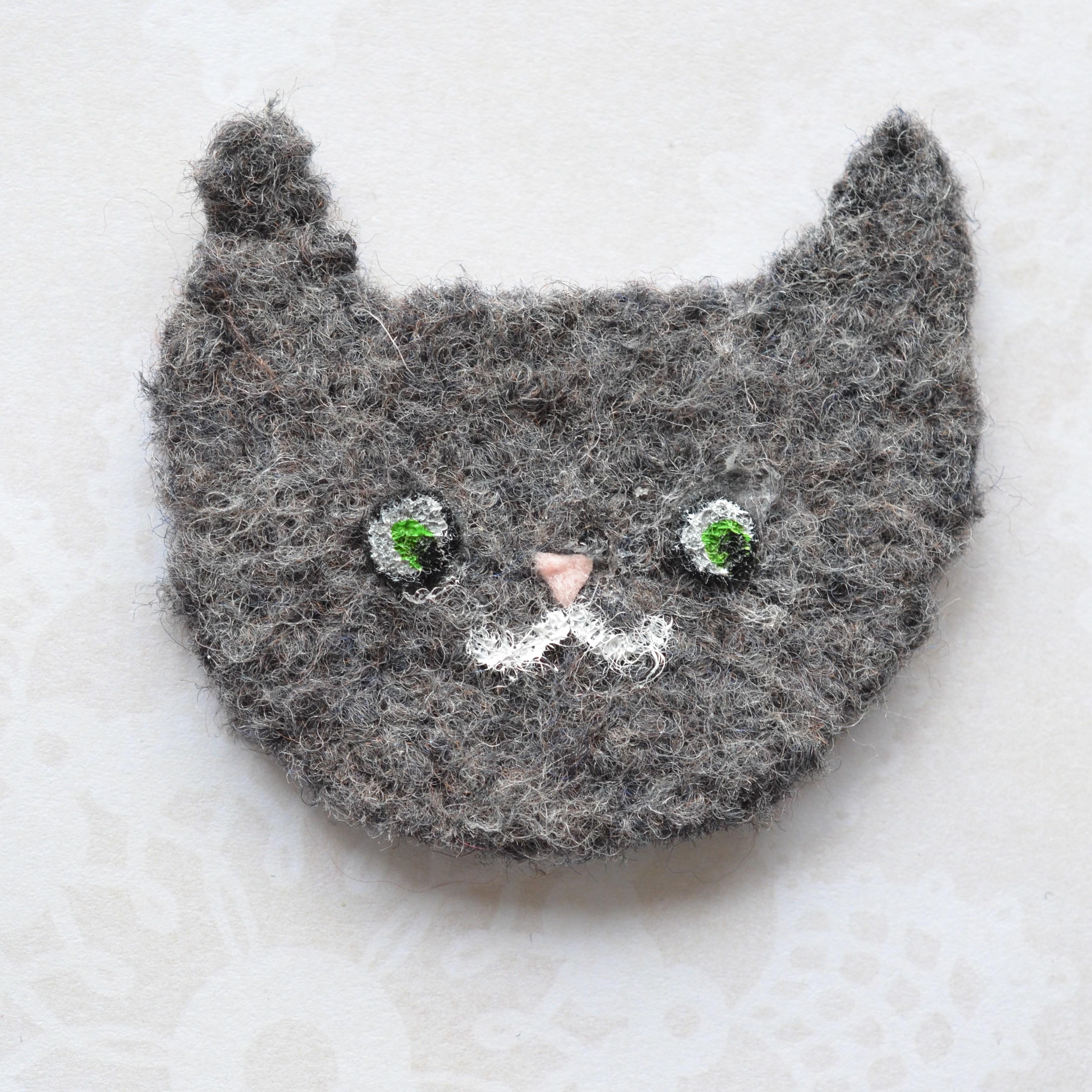 Pre Shave Oil Pops Milk Crochet Craft Diy Felt Cat